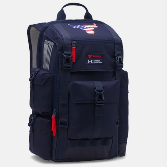 91eda4fa4 Under Armour Bags   Ua Project Rock Freedom Regiment Backpack Navy ...